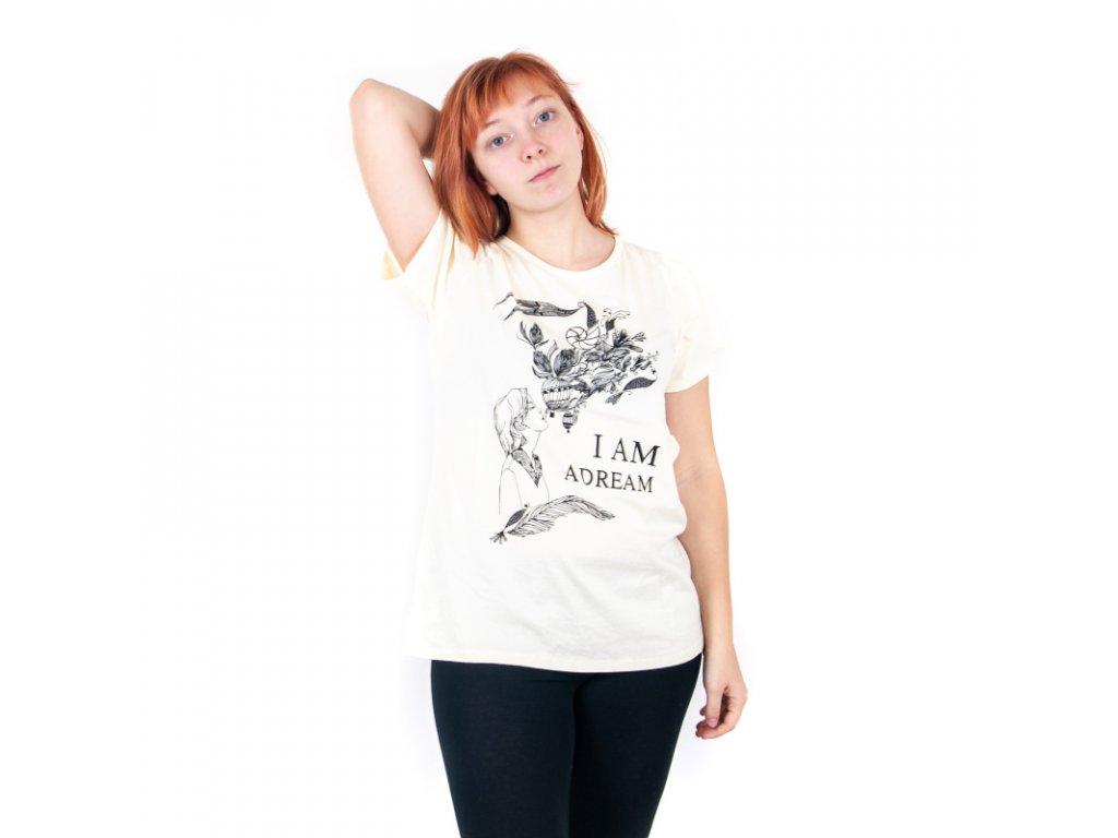 Tričko dámské DREAM L modrá
