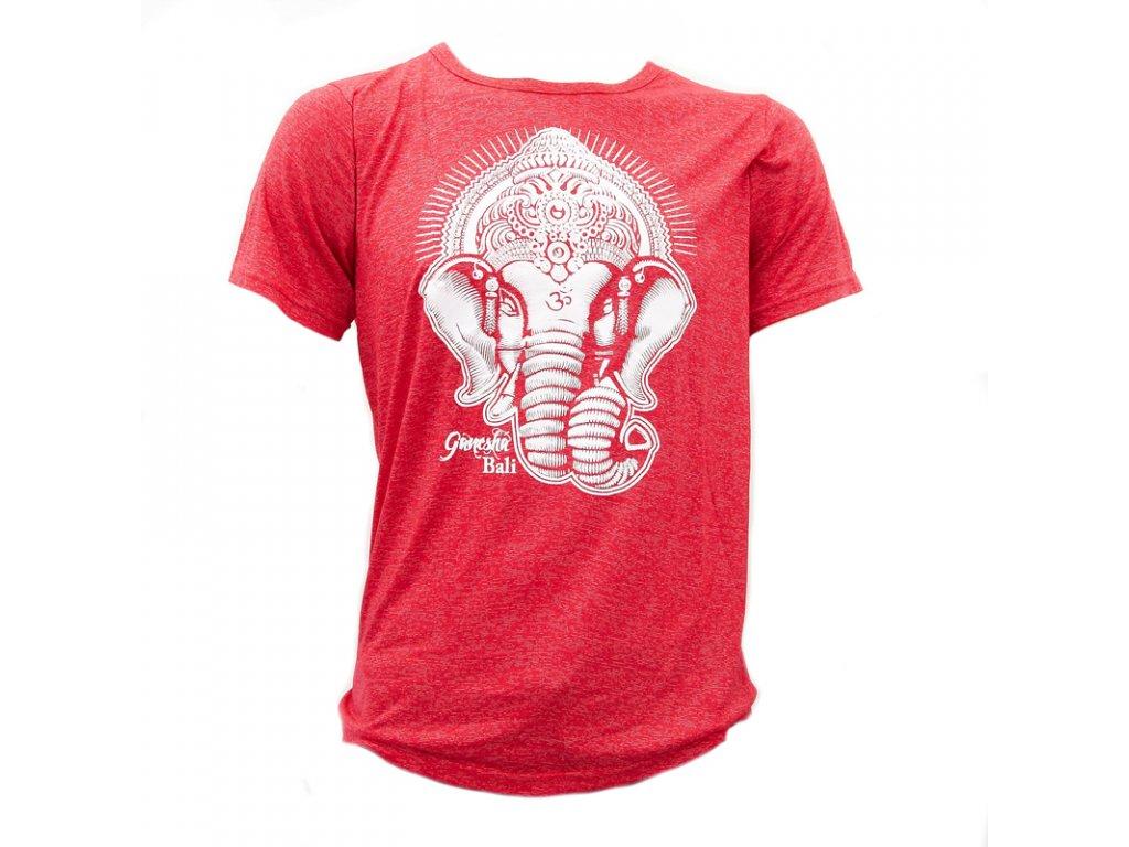 Tričko Ganesha červená L