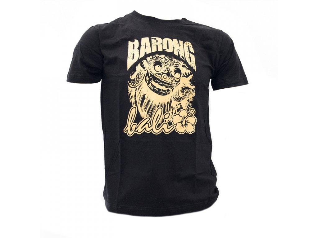Tričko Bali Barong 01 černá L