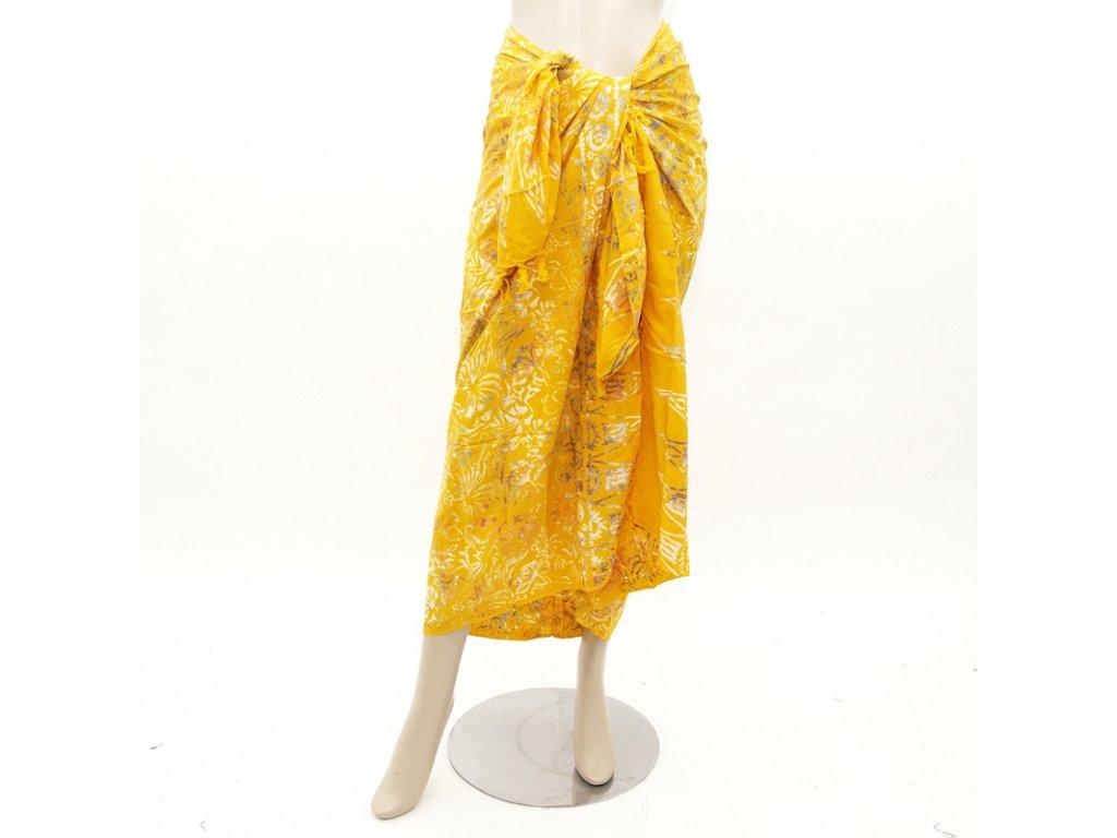 Pareo Yuni žlutá
