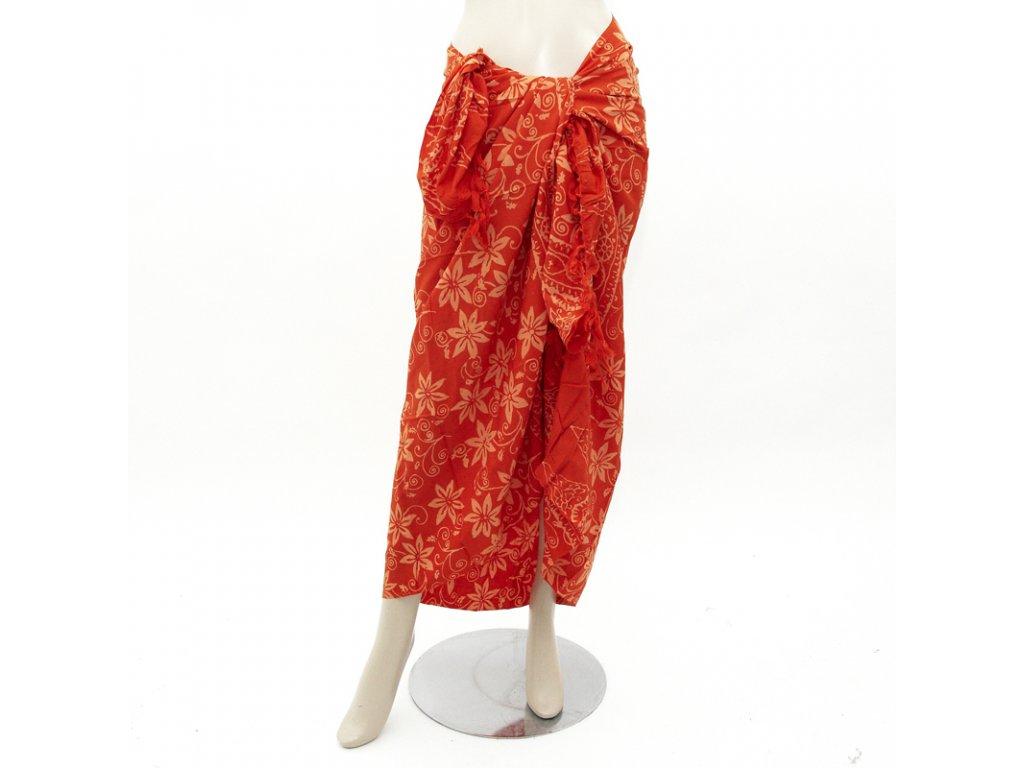 Pareo Tasya oranžová