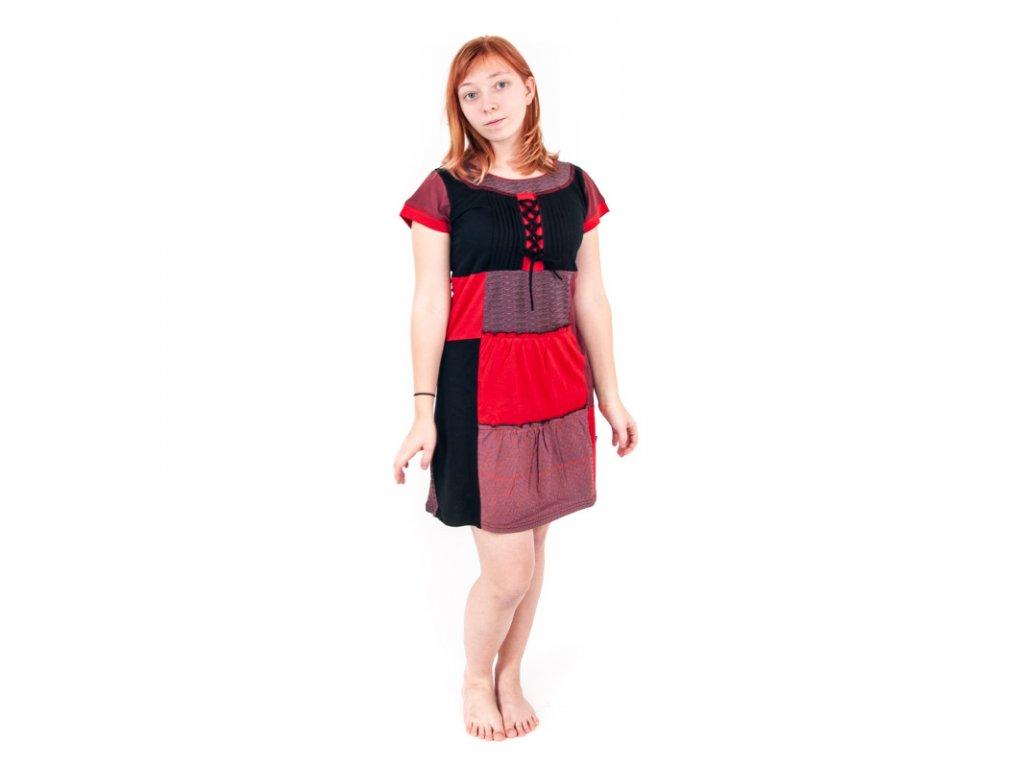 Šaty Joy 22 M červená