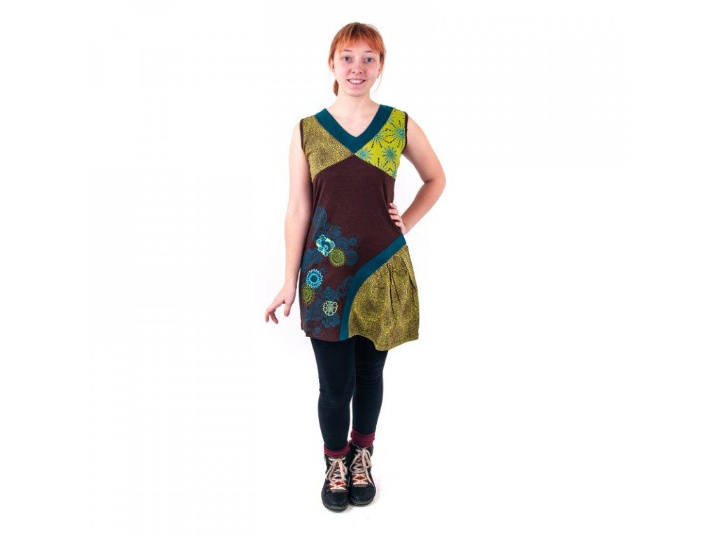 Šaty Joy 05 M tyrkysová