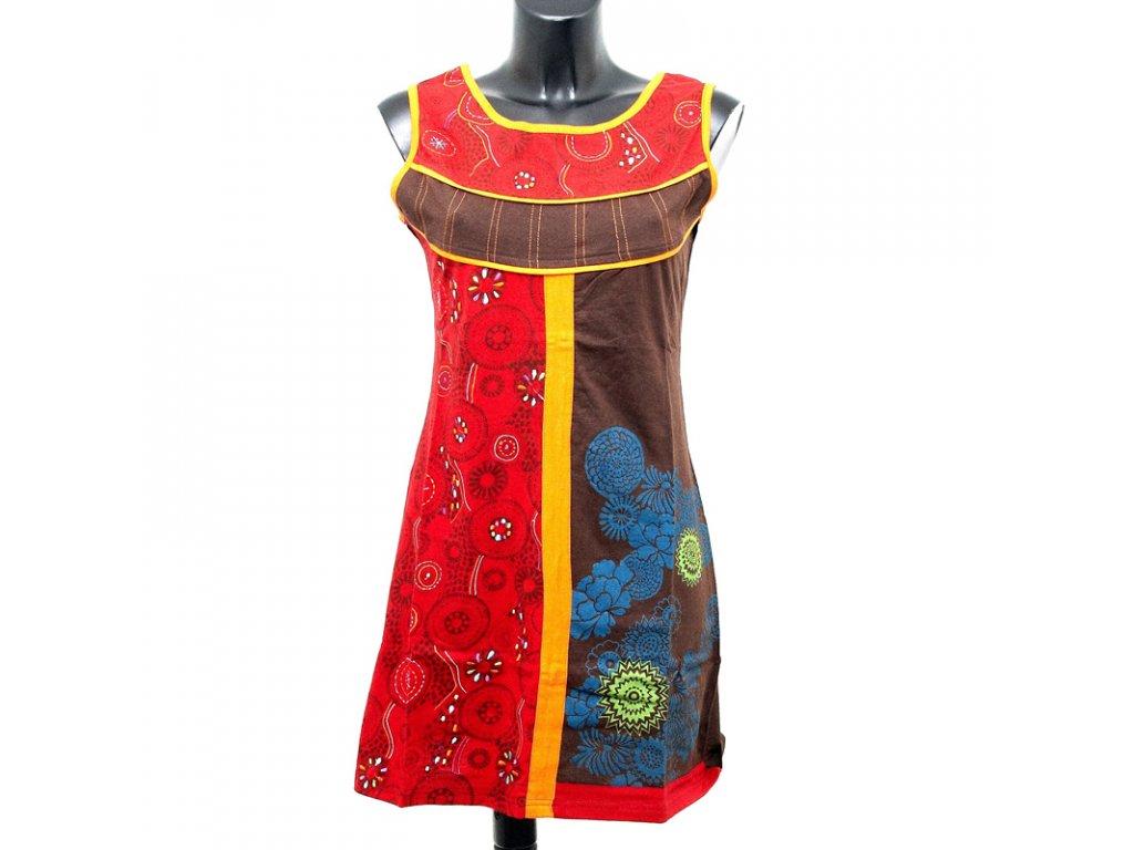 Šaty Joy 01 M modrozelená