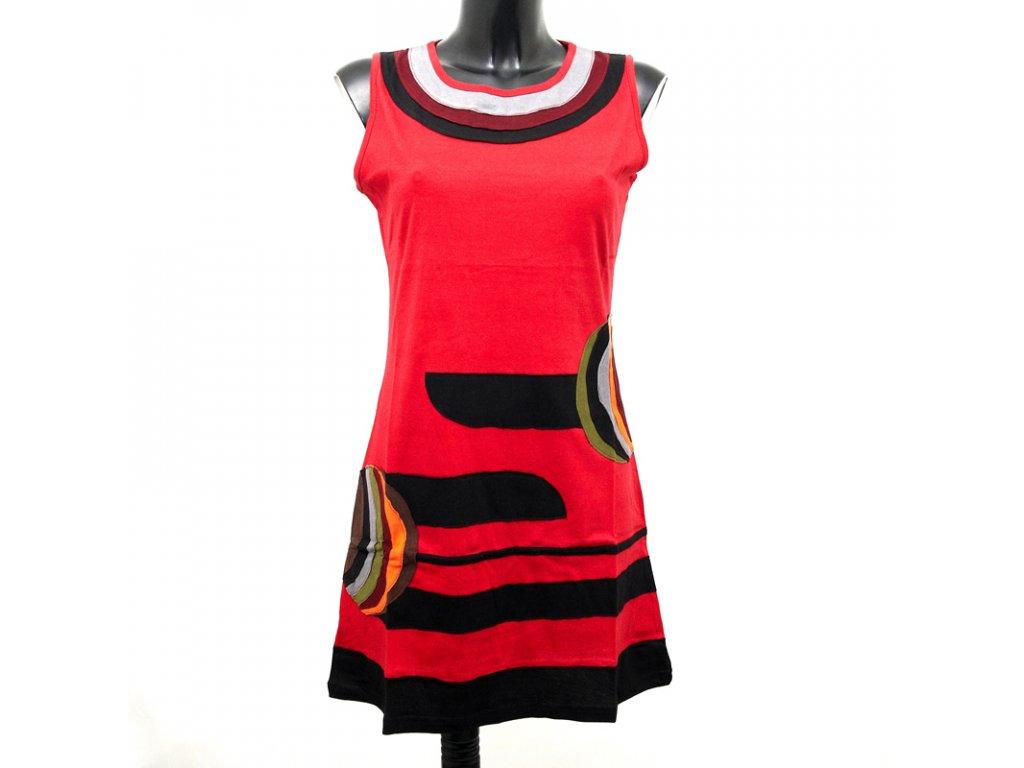 Šaty Joy 18 S/M červená