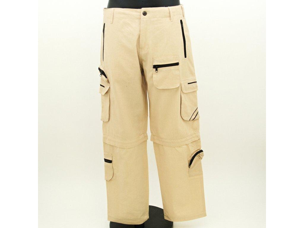Kalhoty pánské Dipak M Natural