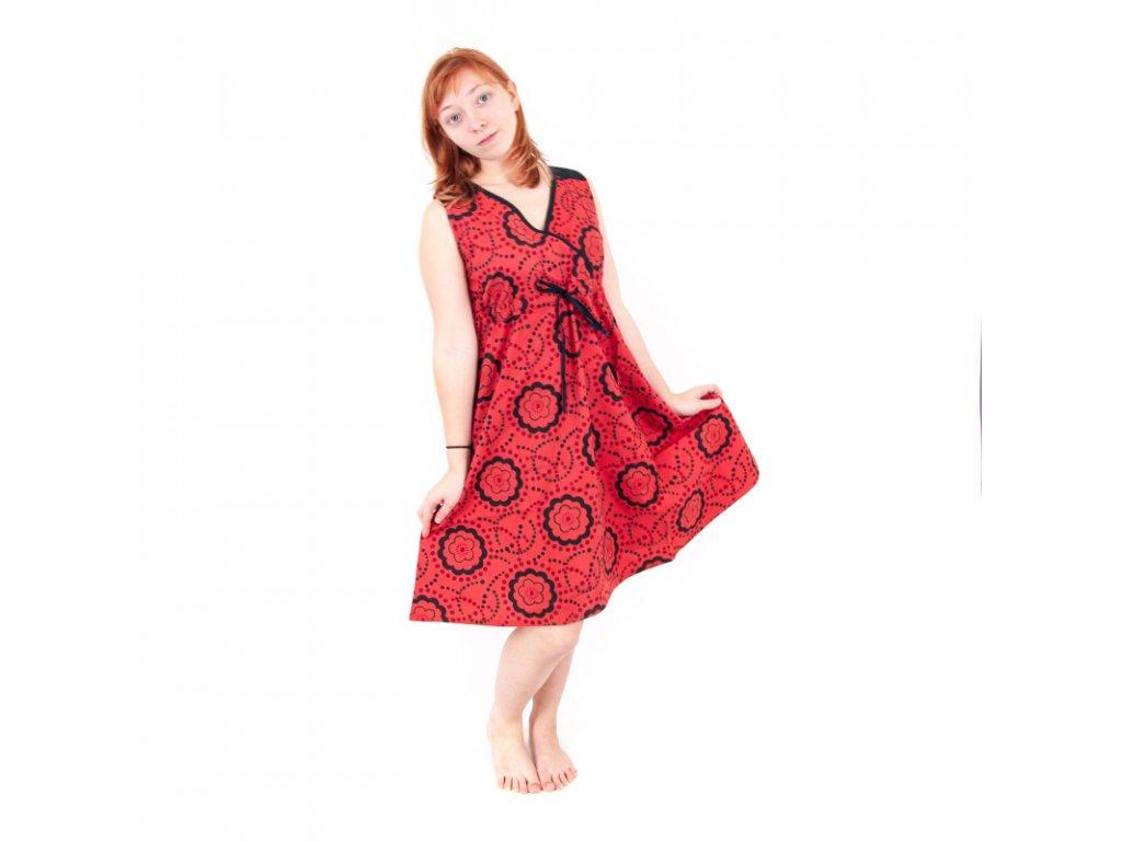 Šaty krátké Savitri M Fialová