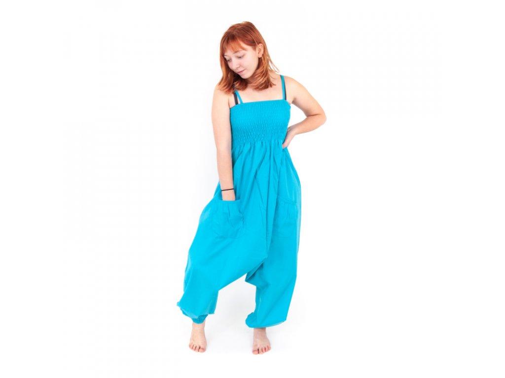 Kalhoty dámské Nikol M fialová