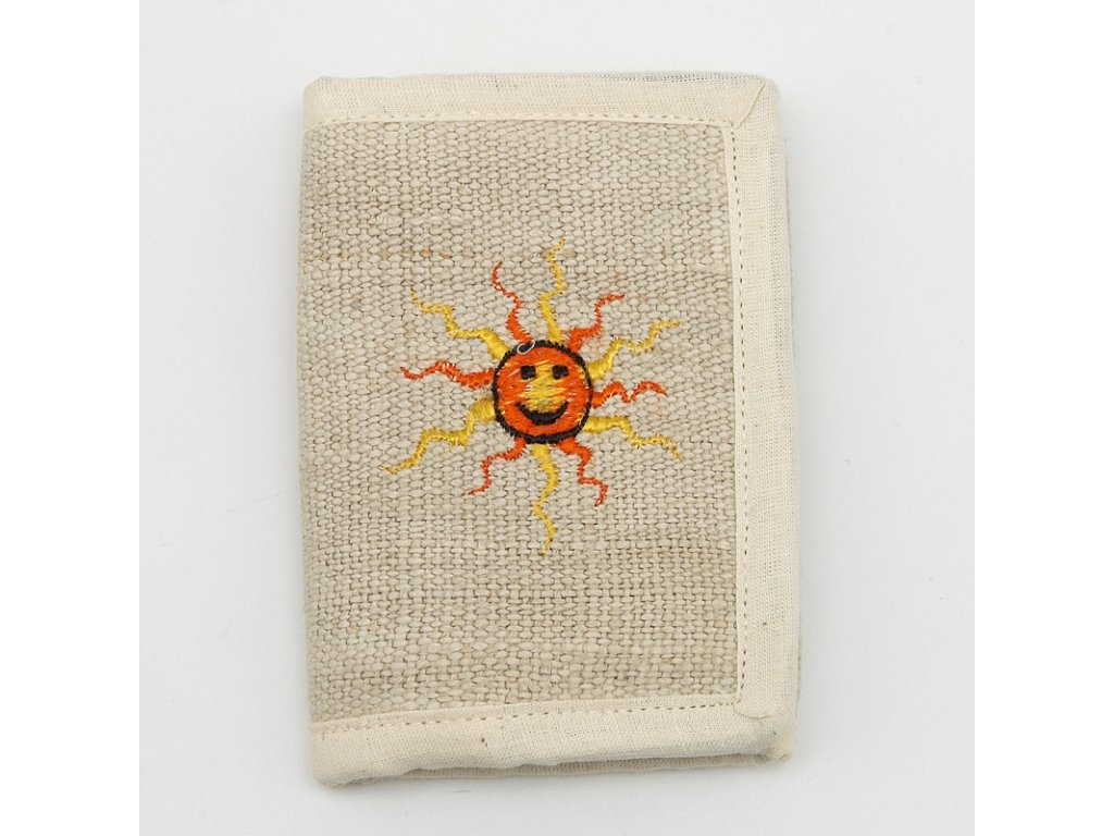 Peněženka konopí II. Slunce