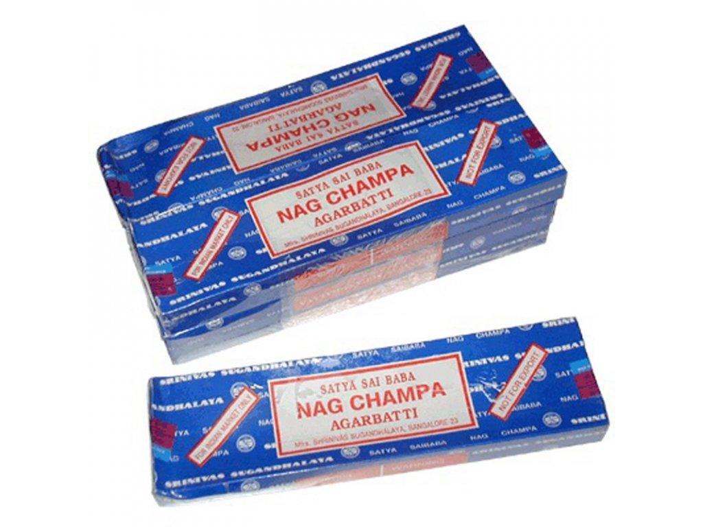 Indické vonné tyčinky Satya Nag Champa 40 g