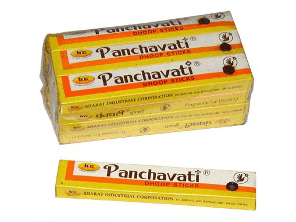 Indické vonné tyčinky Panchavati dhoop velké