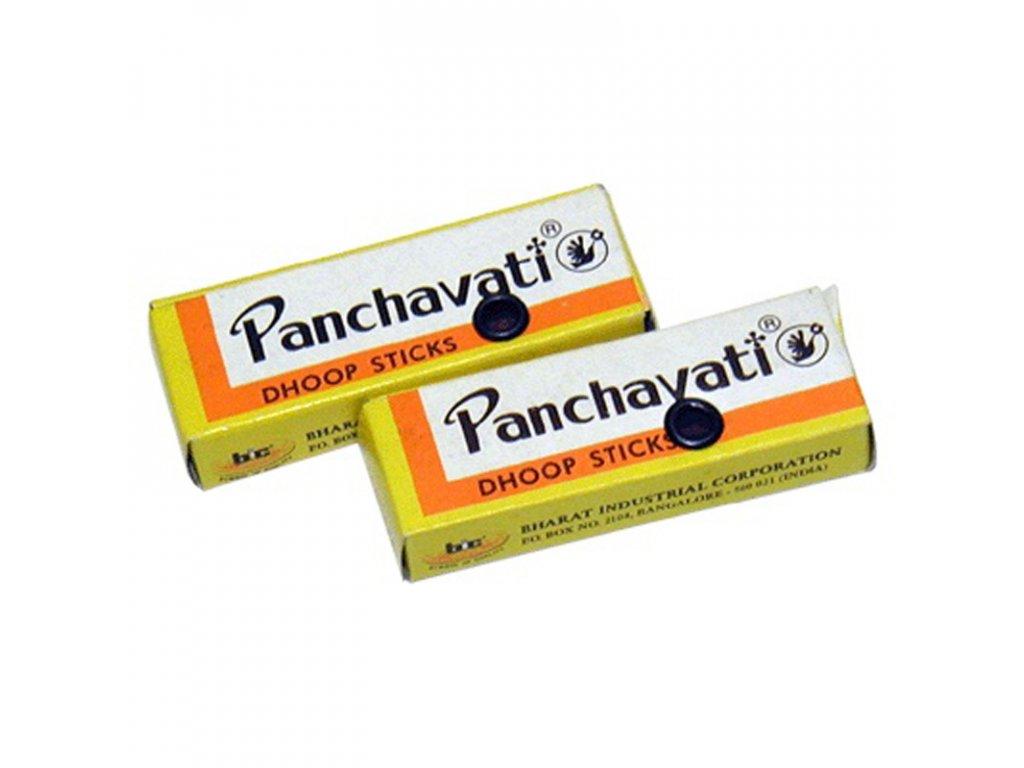 Indické vonné tyčinky Panchavati dhoop malé