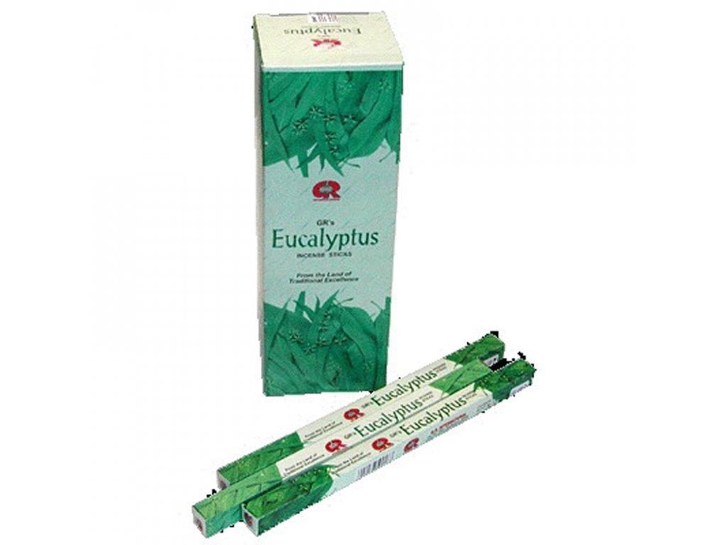Indické vonné tyčinky GR SQ Eucalyptus