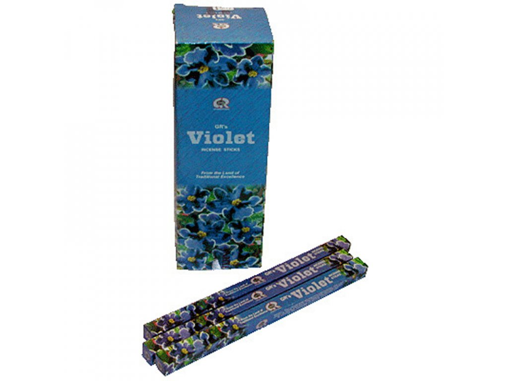 Indické vonné tyčinky GR SQ Violet