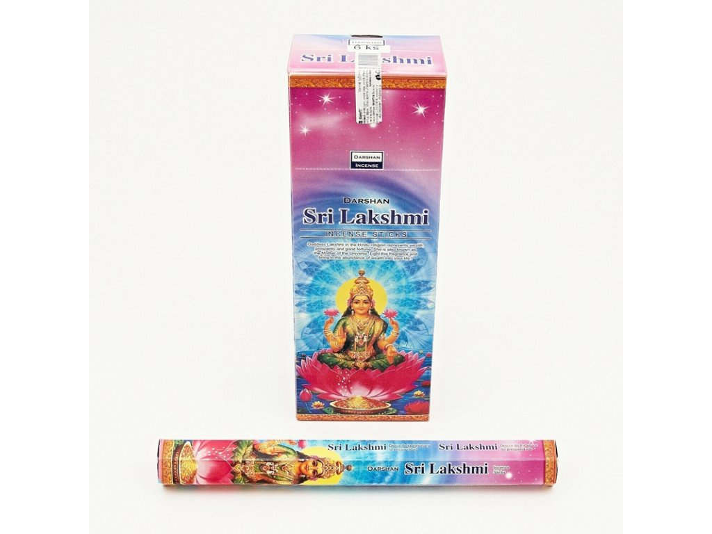 Indické vonné tyčinky Darshan Sri Lakshmi