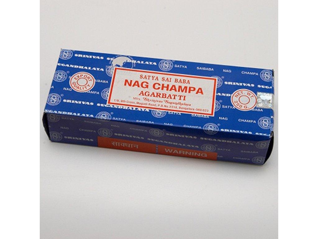 Indické vonné tyčinky Satya Nag Champa 250 g