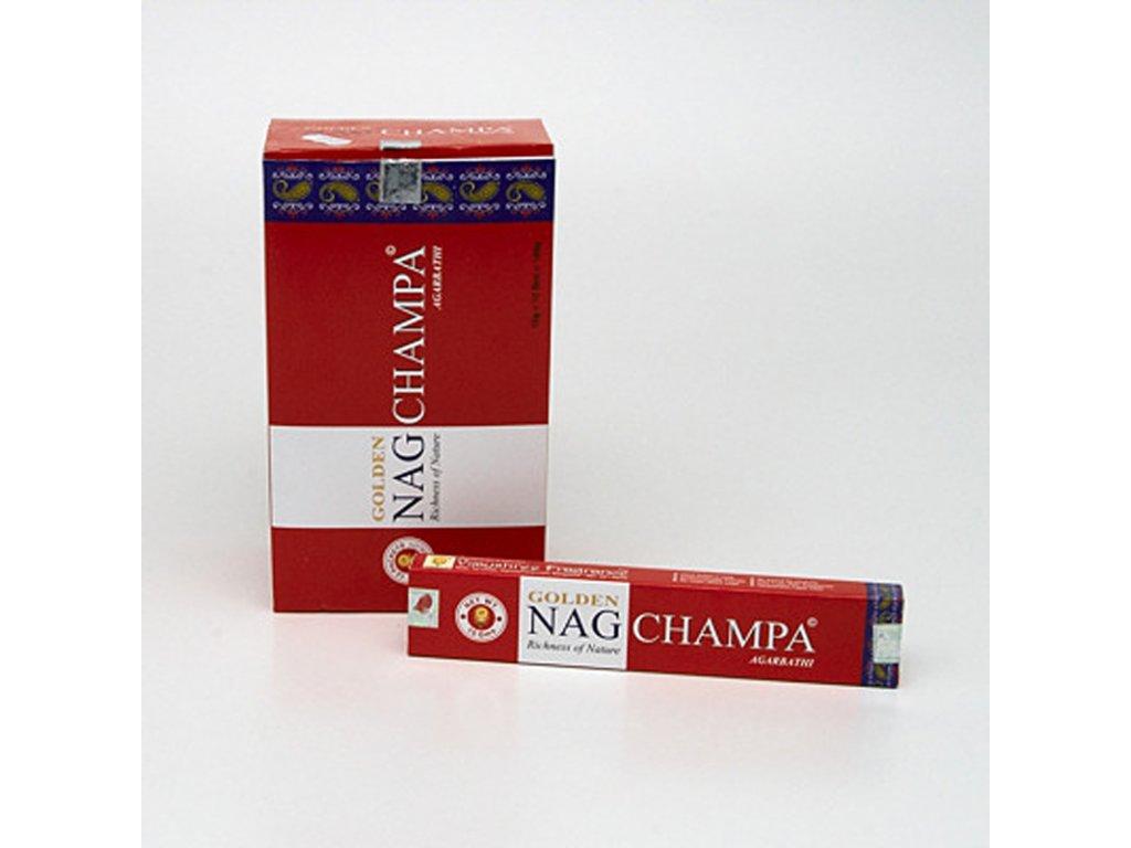 Indické vonné tyčinky Vijayshree Golden Nag Champa