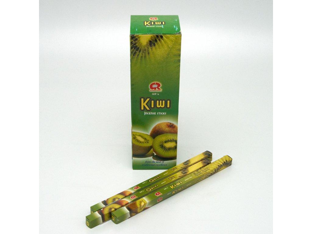 Indické vonné tyčinky GR SQ Kiwi