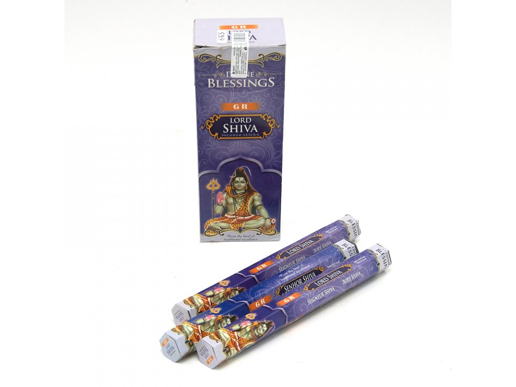 Indické vonné tyčinky GR HX Blessings Lord Shiva