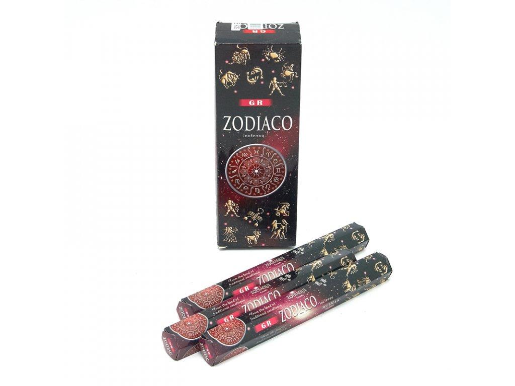 Indické vonné tyčinky GR HX Zodiac