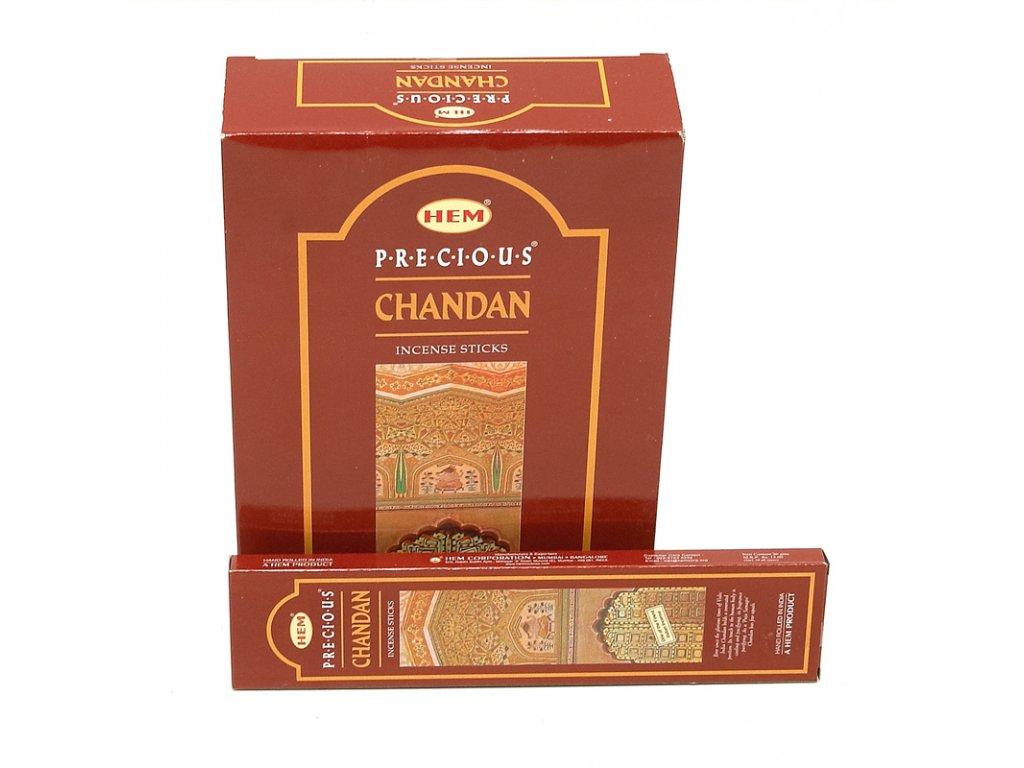 Indické vonné tyčinky Hem HX Precious Chandan 20 g