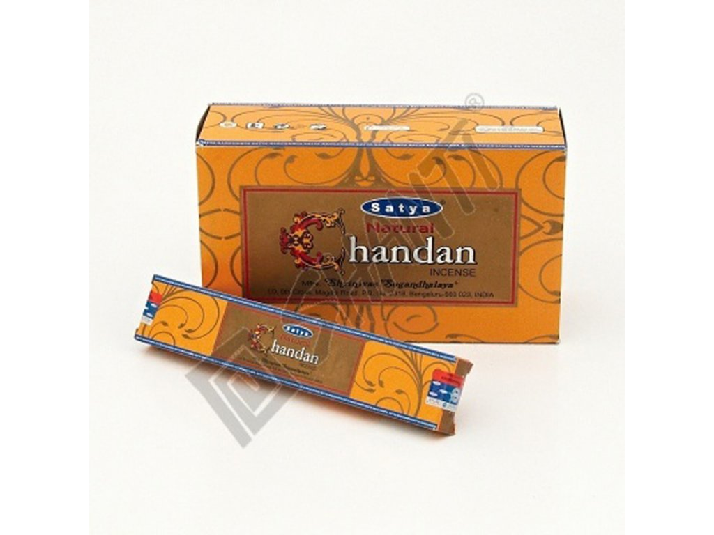Indické vonné tyčinky Satya PK Natural Sandal 15 g