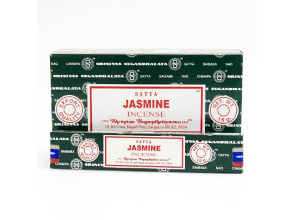 Indické vonné tyčinky Satya PK Jasmine 15 g