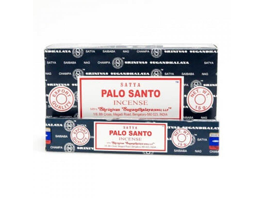 Indické vonné tyčinky Satya PK Palo Santo 15 g