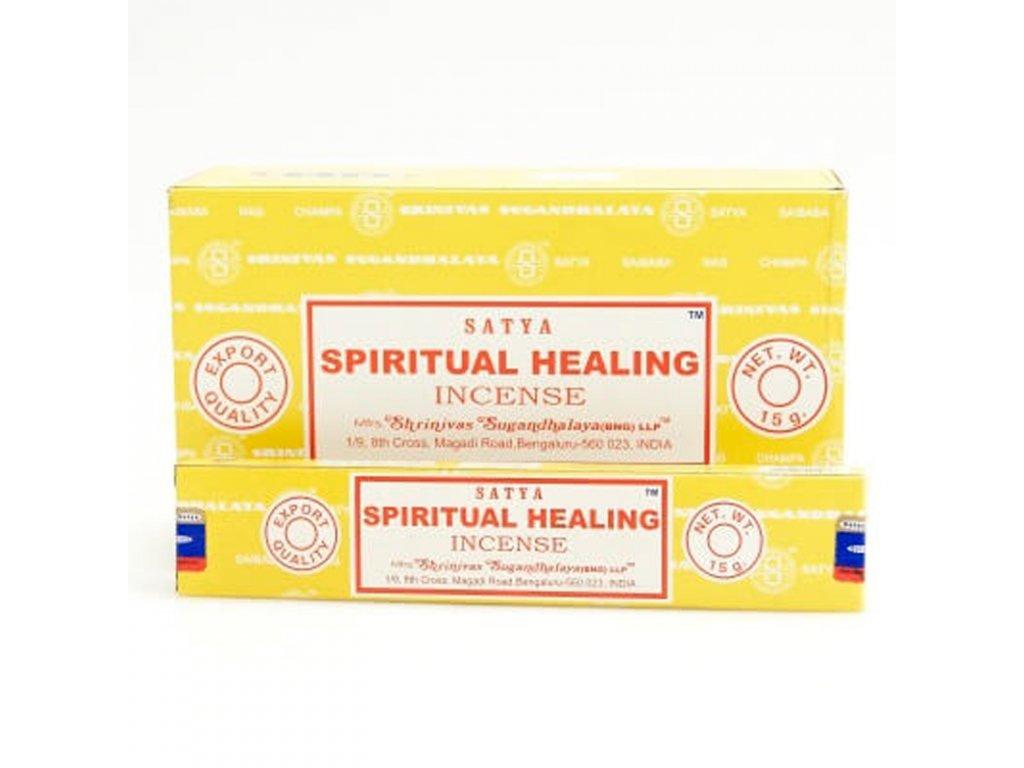 Indické vonné tyčinky Satya PK Spiritual Healing 15 g