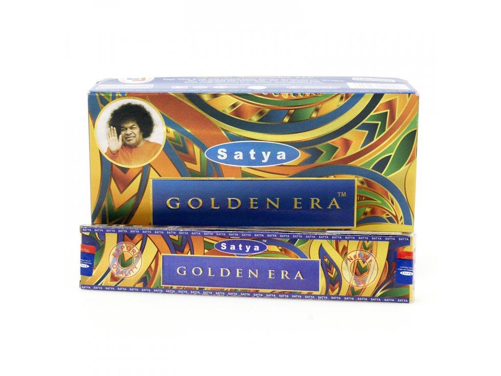 Indické vonné tyčinky Satya PK Golden Era 15 g