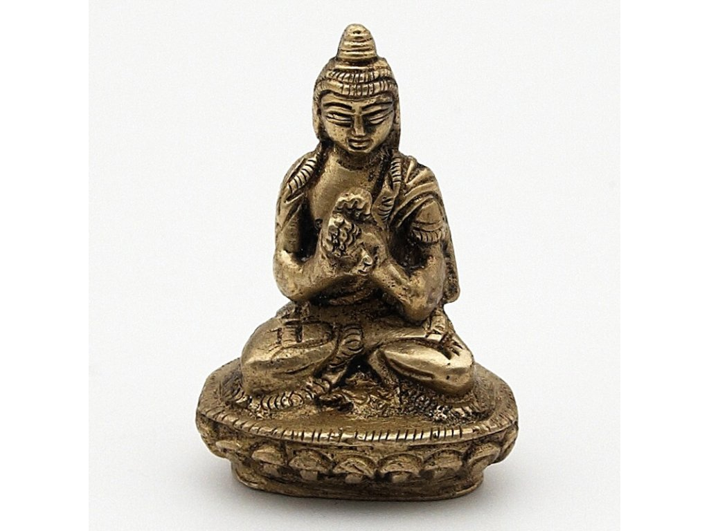 Soška kov Buddha 05,5 cm II.