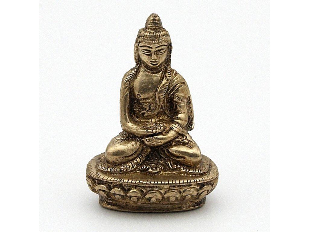 Soška kov Buddha 05,5 cm III.