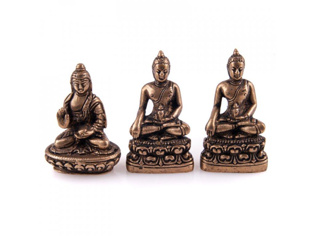Soška kov Buddha 05,5 cm IV.