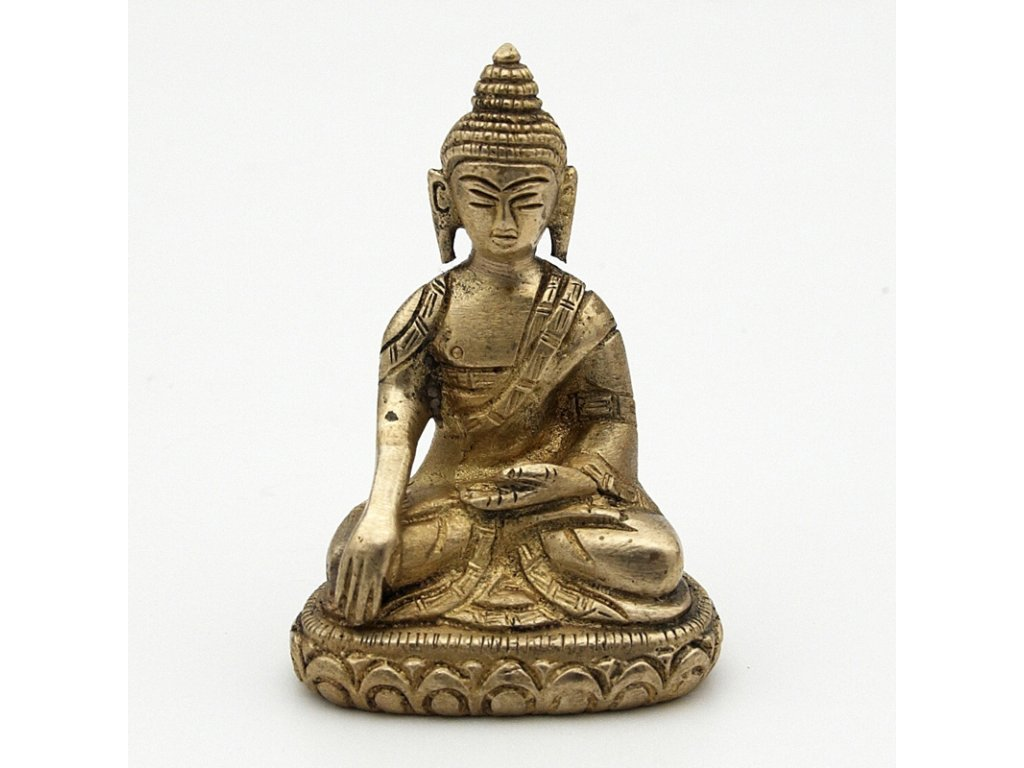 Soška kov Buddha 07 cm II.