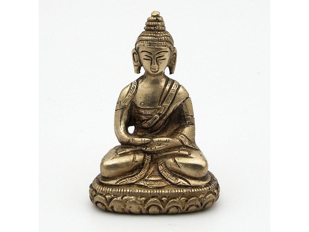 Soška kov Buddha 07 cm III.