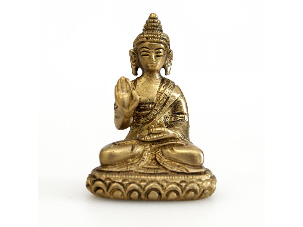 Soška kov Buddha 07 cm IV.
