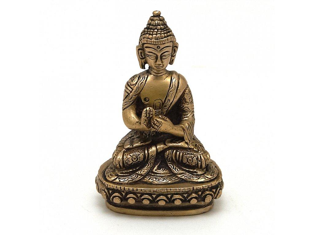 Soška kov Buddha 10 cm I