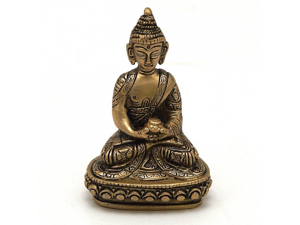 Soška kov Buddha 10 cm III