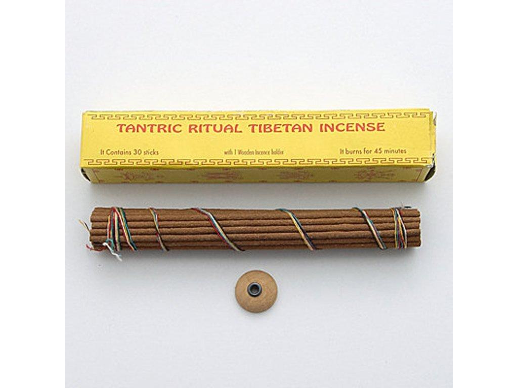 Tibetské vonné tyčinky Tantric ritual