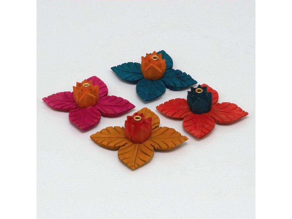 Stojánek na vonné tyčinky - lotos