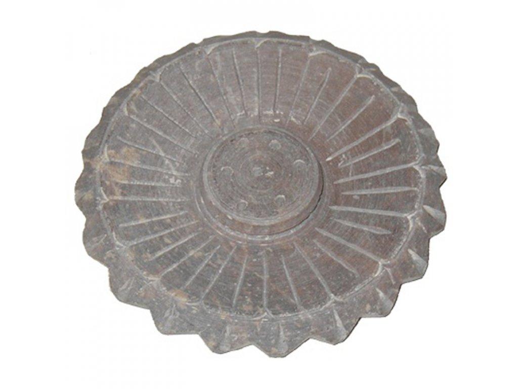 Stojánek na vonné tyčinky - talířek kámen 10cm