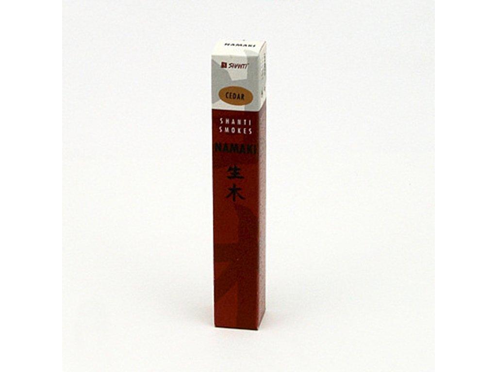Japonské vonné tyčinky Namaki Cedar