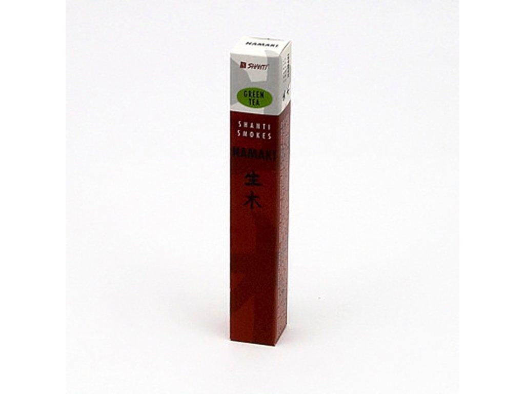 Japonské vonné tyčinky Namaki Green Tea