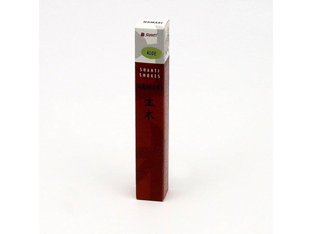 Japonské vonné tyčinky Namaki Aloe