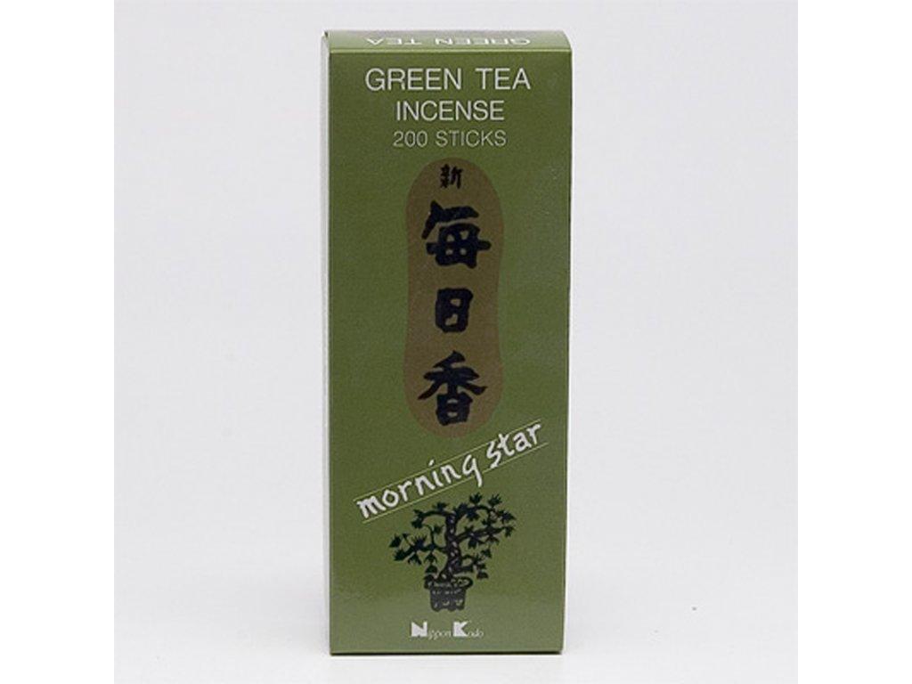 Japonské vonné tyčinky Nippon M/S 200 ks Green Tea