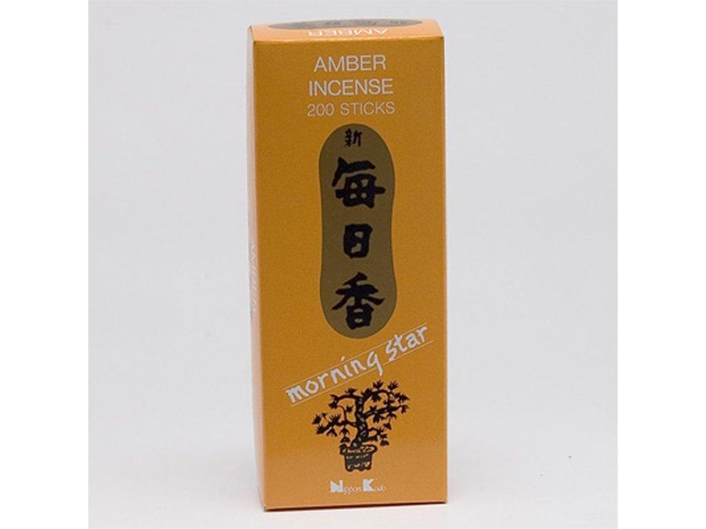 Japonské vonné tyčinky Nippon M/S 200 ks Amber