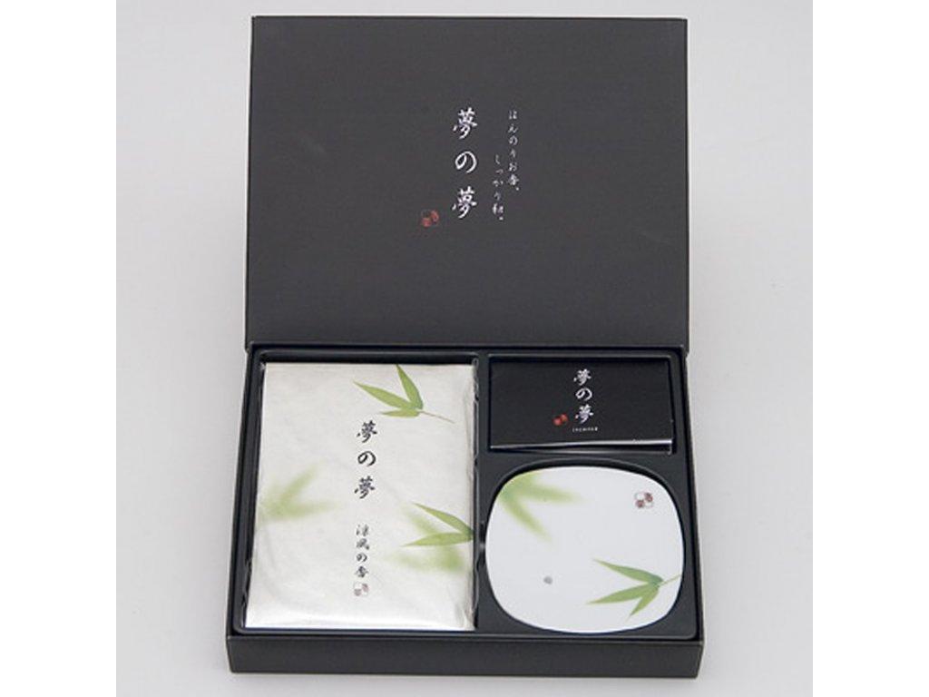 Japonské vonné tyčinky Nippon Yume-no-Yume Bamboo Leaf
