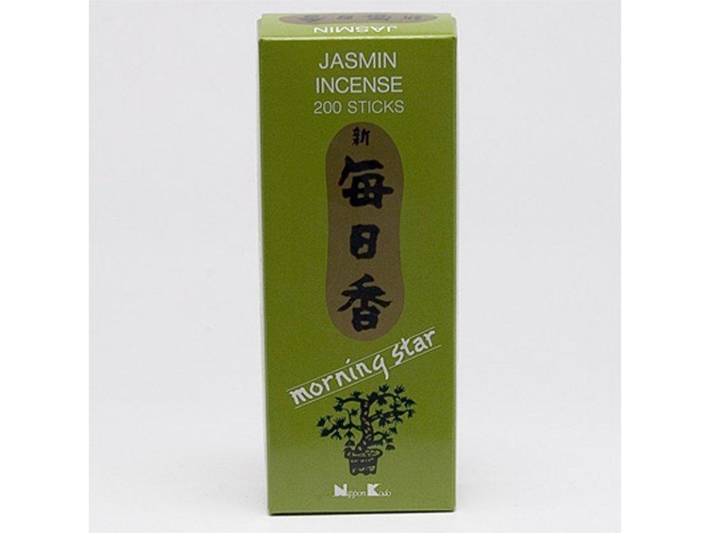 Japonské vonné tyčinky Nippon M/S 200 ks Jasmine