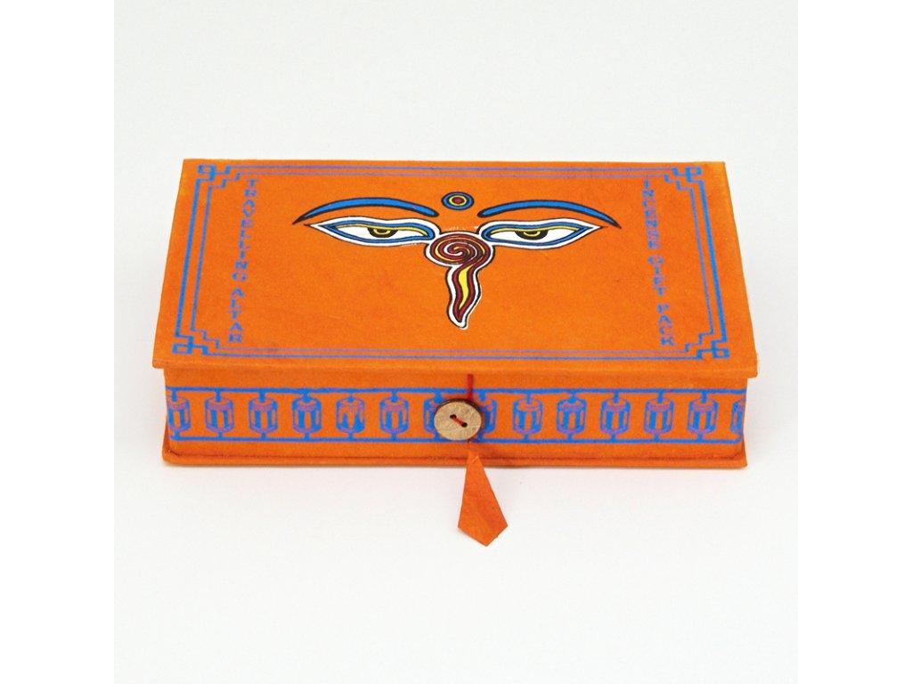 Tibetské vonné tyčinky Gift Pack Buddha Eyes