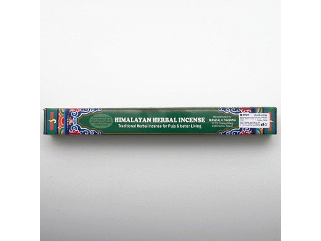 Tibetské vonné tyčinky Mandala Trading Herbal